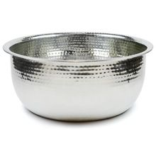 Hand Hammered Steel Spa Pedicure Bowl