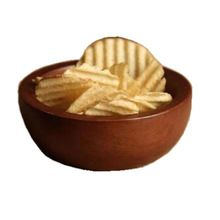 Small Wooden Bowl For Serving Snacks