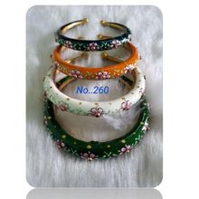 hand painting handmade fashion bangles