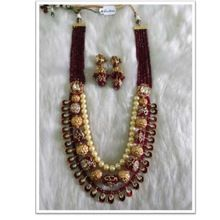 Indian Weeding Semi precious beads necklace