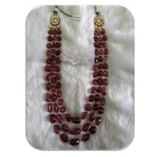 Natural Semi Precious Stone Beaded Jewelry Necklace