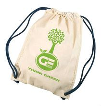 FOOD SAFE JUTE DRAWSTRING BAG