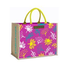 High quality jute shopping bag
