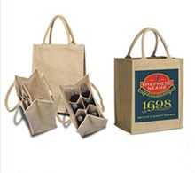 jute handled shopping bag