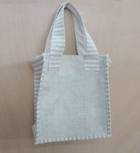 JUTE SHOPPING TOTE BAG