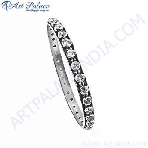 Cubic Zircon Gemstone Bangle