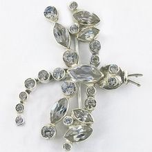 Cubic Zirconia Brooches