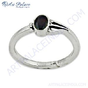 Silver Rings With Garnet Gemstone