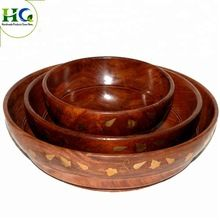 Indian wooden bowls