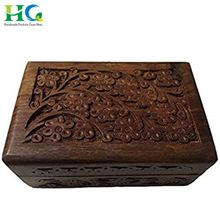 Small Wooden Jewelry Box