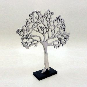 Aluminium MDF Table Top Decorative Tree