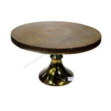 Antique Copper Plated Wedding Cake Stand