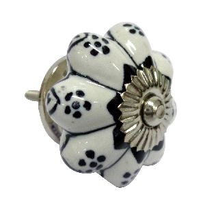 Designer Ceramic Wardrobe Drawer Door Knobs