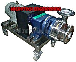 Acid Sludge Transfer Pump