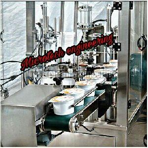 Automatic Ice Cream Cup Filling Machine
