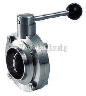 Butterfly Valve Weldable TC
