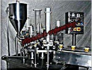Curd Cup Filling Machine