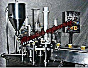 Dahi Filling Machine