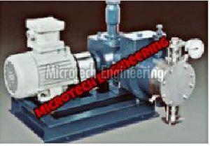 Hydraulic Actuated Double Diaphragm Pump
