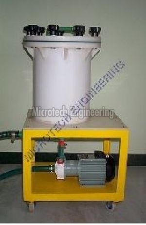 Industrial Electroplating Filter Housing