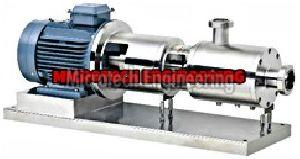 Inline Ginger Paste Homogeniger Mixer