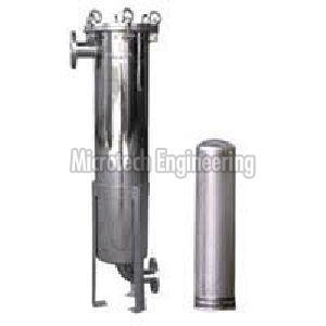 Juice filter housing