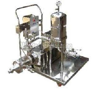 Lab Scale Perfume Filtration System