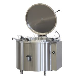 Oil Steam Boiling Pan