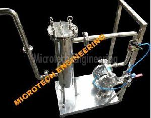 Pneumatic Perfume Filtration System