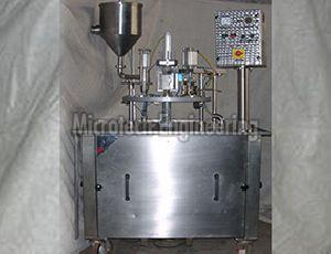 Semi Automatic Dahi Filling Machine