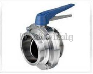 TC End Butterfly Valve