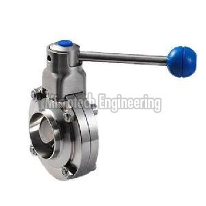 Weld Neck  Butterfly Valve