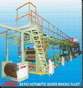 3/ 5 Ply Automatic Corrugated Plant