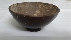 Coconut Shell Bowl Polished