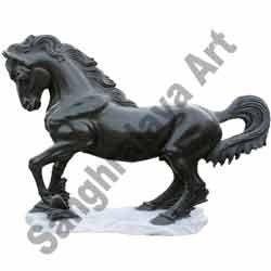 Black Horse Statue