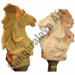 Horse Face Statue