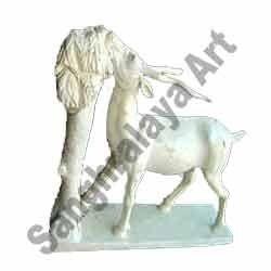 Stone Deer Statue