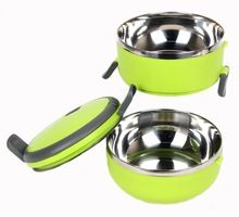 Stainless Steel Double Layer heat preservation Lunch Box