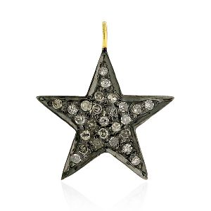 Silver Star Charm Pendant