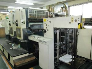 Komori L-240 Two Color Offset