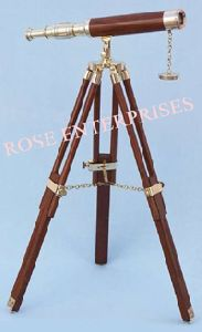 Single Barrel Tripod Telescope