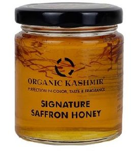 Organic Kashmir Signature Saffron Honey