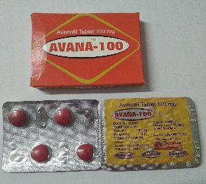 Avana 100 mg Tablet