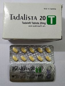 Tadalista 20 mg Tablet