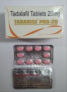 Tadarise Pro 20 mg Tablet