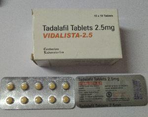 Vidalista 2.5 mg Tablet