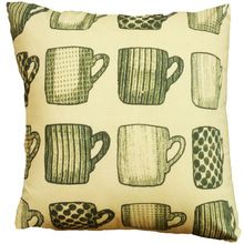 Glass design Multicolor square cushion cover