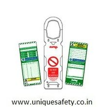 Scaffolding Lockout Tags with holder