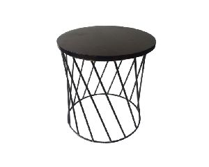 Iron Side Stool For Living Room