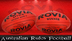 Australian Rules Football AFL Rugby Balls